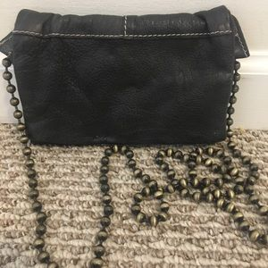 Free People Faux Leather Clutch